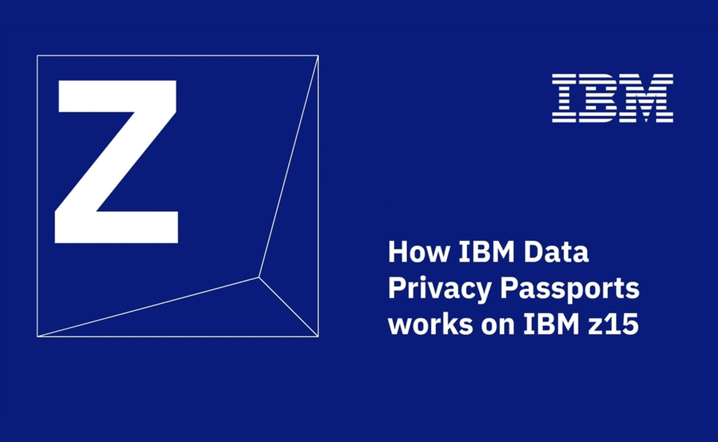 Video thumbnail - How IBM Data Privacy Passports Works on IBM Z