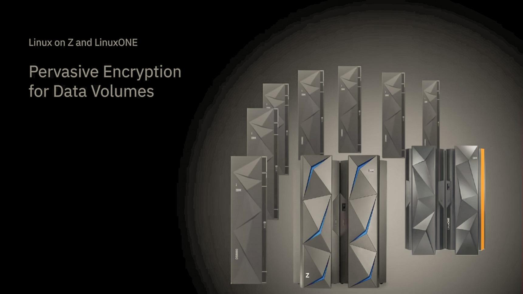 Youtube - Pervasive Encryption for Data Volumes thumbnail